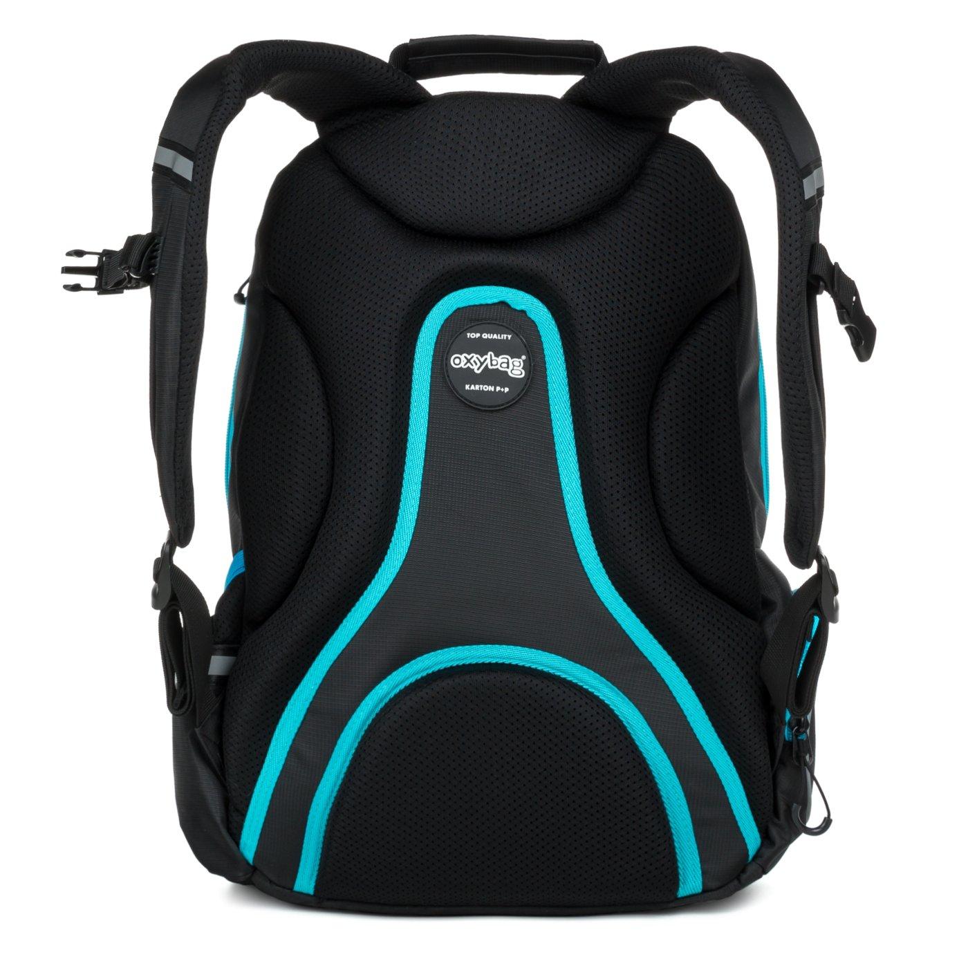 00a9fa9d58 ... Studentský batoh OXY Sport BLACK LINE blue Bez licence · Image. OXY